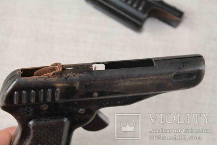 Игрушечный пистолет под пистоны Макорова с кобурой СССР, фото №8