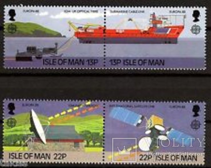 Остров Мэн 1988 Европа СЕПТ Транспорт