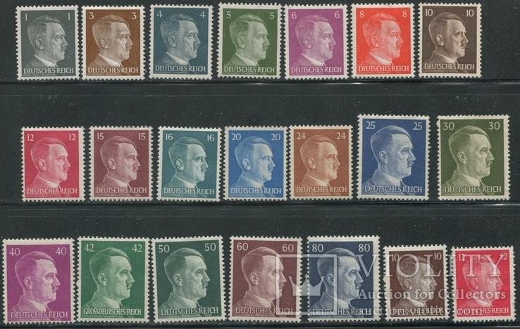 1941-42 Рейх Гитлер 2 полных выпуска