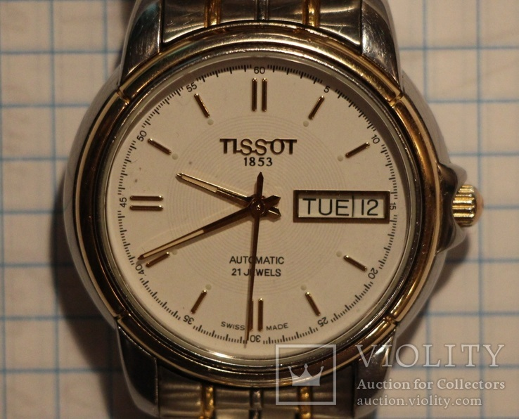 Tissot (automatic. 21 jewels)