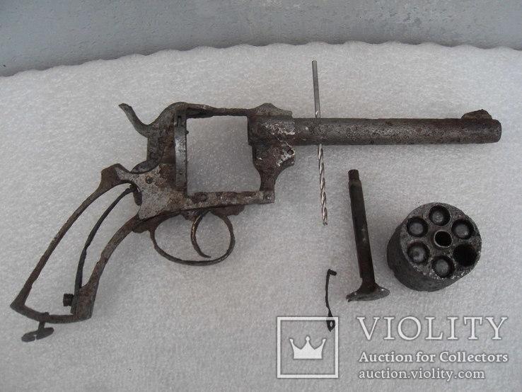 Револьвер Лефоше, 19 век. ММГ, фото №7