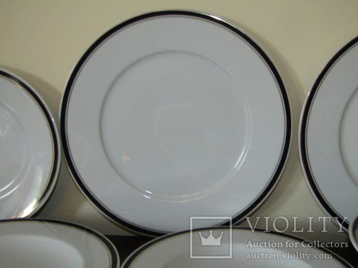 Сервиз. Блюдо огромные тарелки блюда салатники фарфор кобальт Германия, фото №9