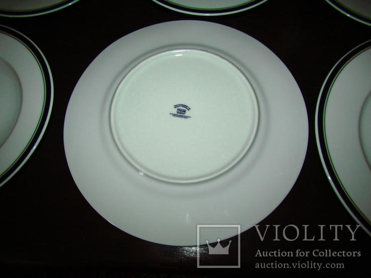 Сервиз. Блюдо огромные тарелки блюда салатники фарфор кобальт Германия, фото №11
