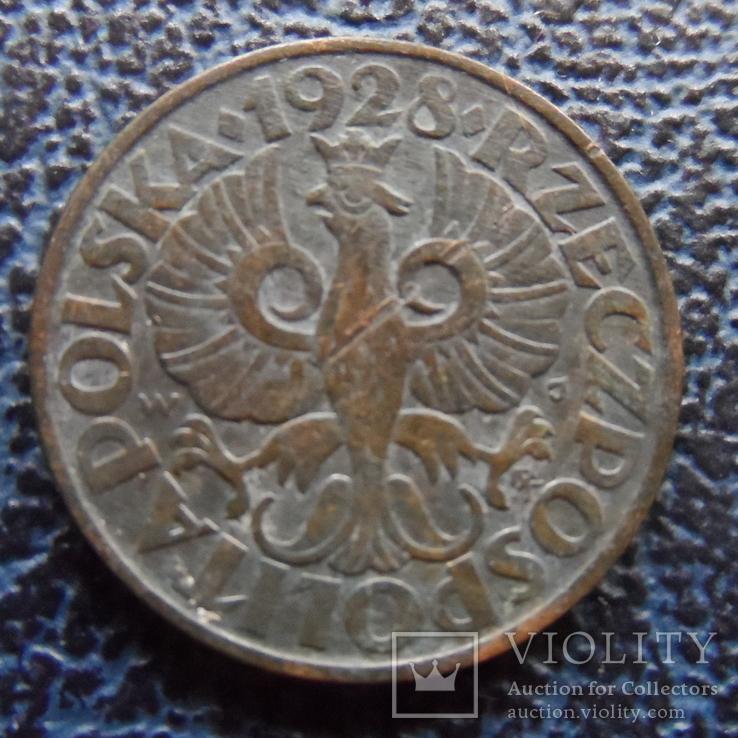 5 грош 1928  Польша  (,11.6.23)~, фото №3