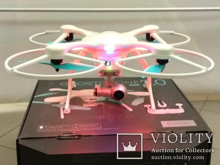 Квадрокоптер Ehang Ghostdrone 2.0 VR IOS GPS 4k з окулярами VR, фото №4