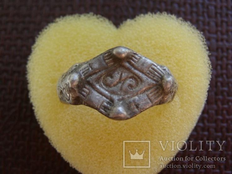 Перстень периода КР с Тамгой, фото №3