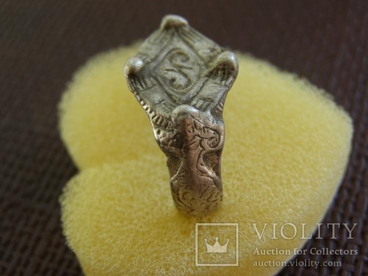 Перстень периода КР с Тамгой, фото №4