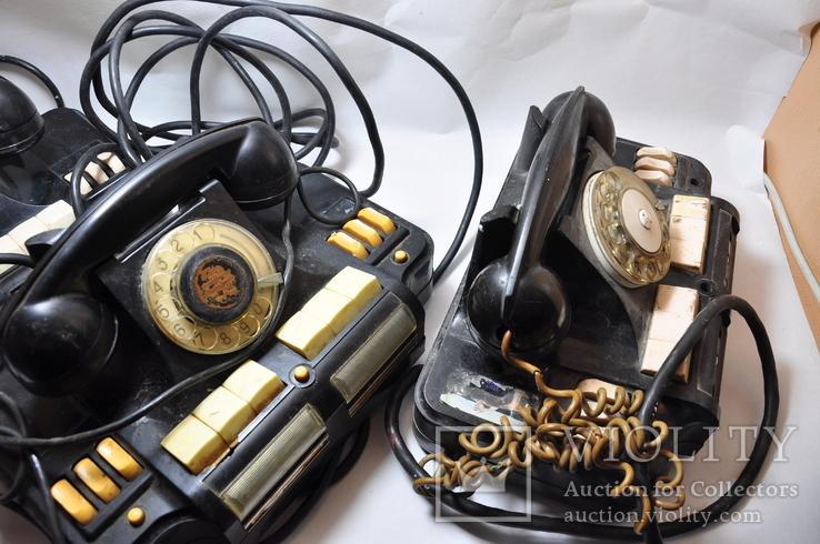 Коммутатор директорский КД-6  Директорский телефон ссср  3шт, фото №5