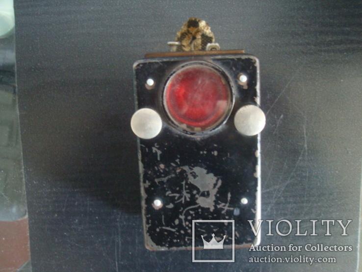Сигнальный армейский,железнодорожный фонарь СССР, фото №2