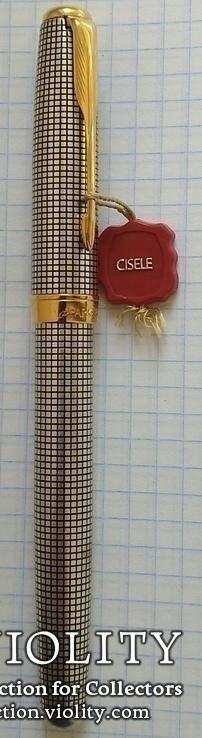 Ручка Паркер Сонет. Серебро, золото, элитная серия., фото №3