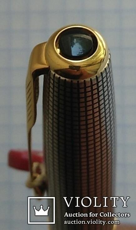 Ручка Паркер Сонет. Серебро, золото, элитная серия., фото №11