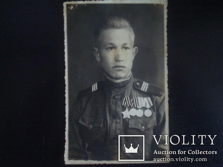 Солдат ВОВ)ордена,медали, фото №2