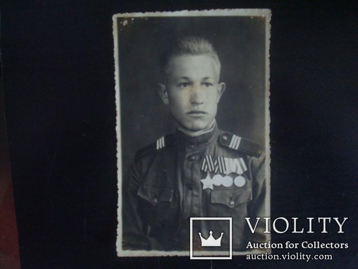 Солдат ВОВ)ордена,медали, фото №3