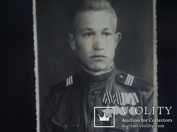 Солдат ВОВ)ордена,медали, фото №4