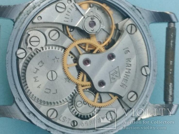 Часы Москва 1мчз 1957, фото №4