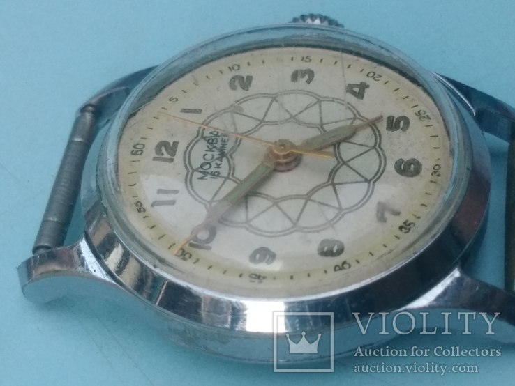 Часы Москва 1мчз 1957, фото №5