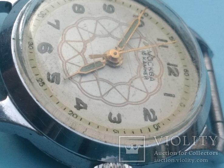 Часы Москва 1мчз 1957, фото №6