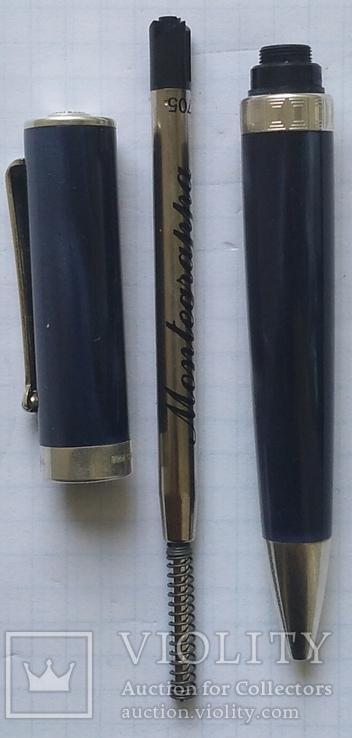 Ручка МОНТЕГРАППА, серебро, элитная серия., фото №4