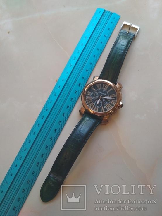 Часы наручные Зеленый браслет под золото, фото №13