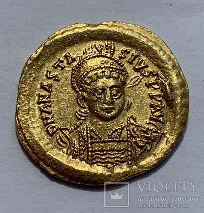 Солид 491-518гг. Анастасиус I
