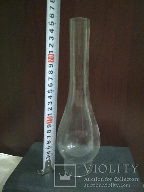 Плафон Стекло для керосиновой лампы 25.5 см, фото №5