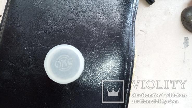 Наче шкіряна сумочка із дзеркалом, часів  СССР., фото №6