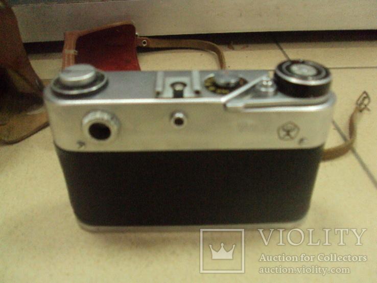 Фотоаппарат фэд 5 в олимпиада с чехлом, фото №5