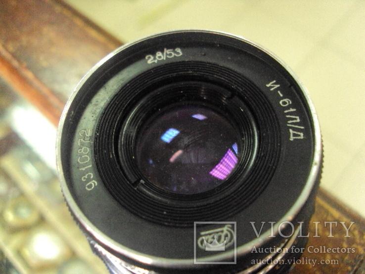 Фотоаппарат фэд 5 в олимпиада с чехлом, фото №13