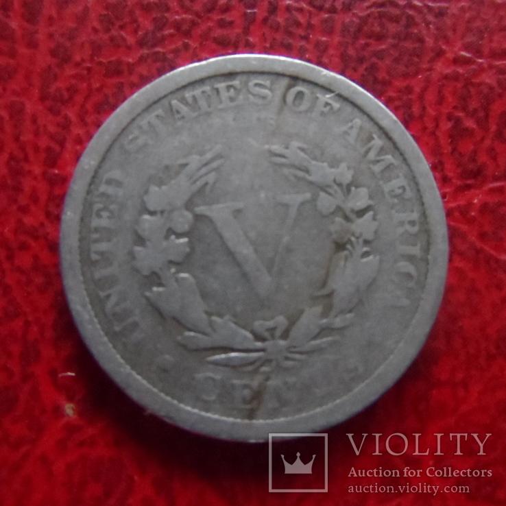 5 центов 1908 США   (,12.1.19)~, фото №3
