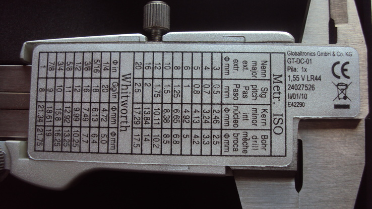 Электронный штангенциркуль, фото №6