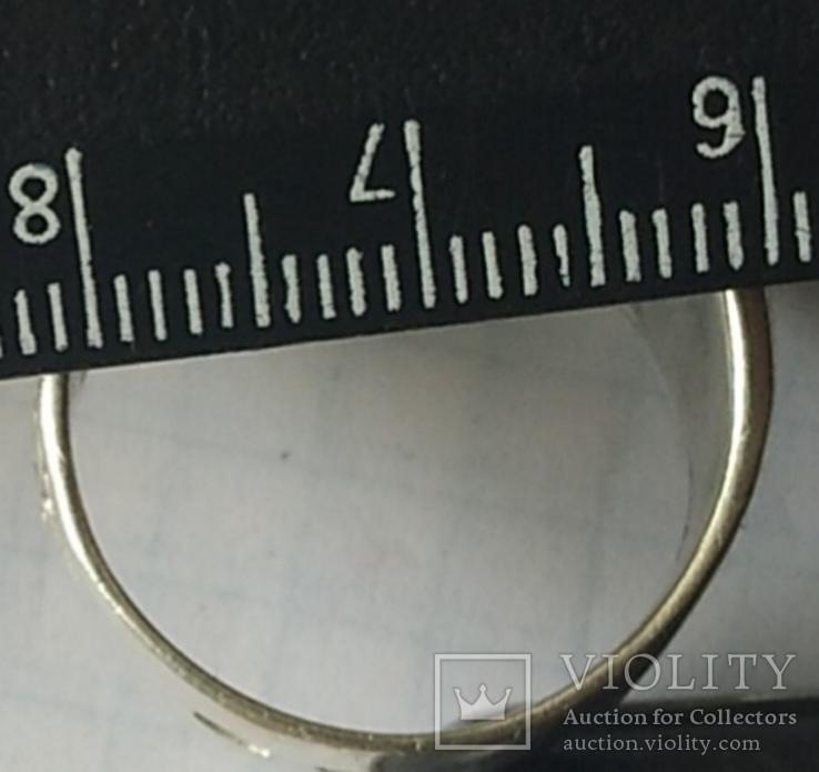 Печатка з вензелем. Срібло., фото №7