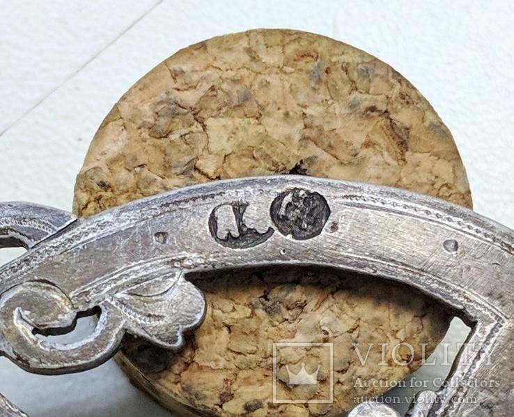 Серебряная чарка.  84 пр. 1890 г., фото №11