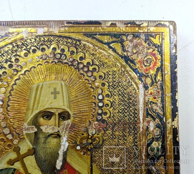 Икона '' Святой Иоанн митр. Тобольский '', фото №5