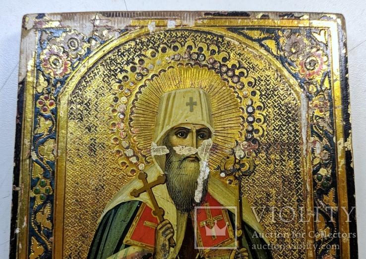Икона '' Святой Иоанн митр. Тобольский '', фото №6