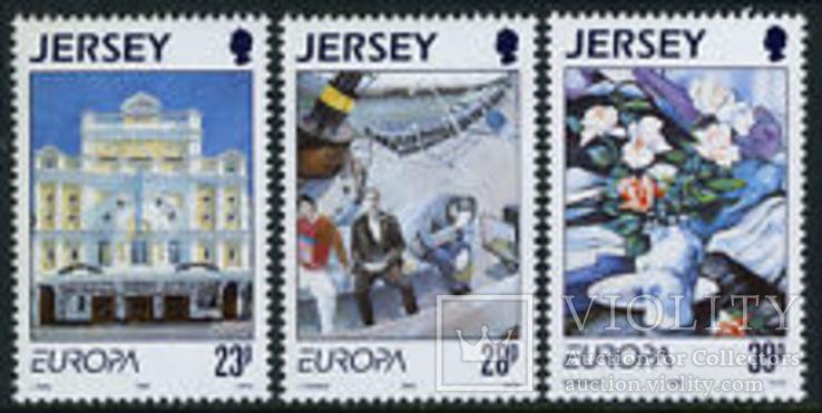 Джерси 1993 Европа СЕПТ искусство