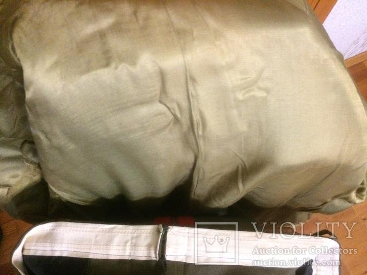 Форма генерала. Фуражка, штаны, плащ, шарф, фото №8