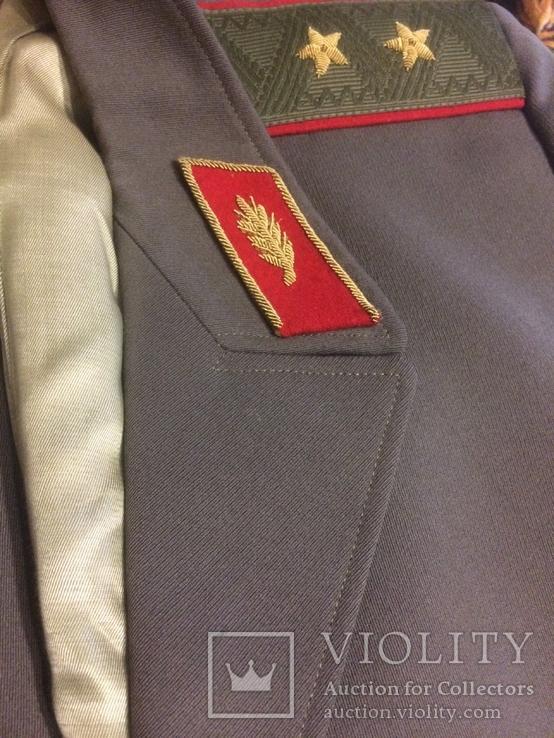 Форма генерала. Фуражка, штаны, плащ, шарф, фото №13