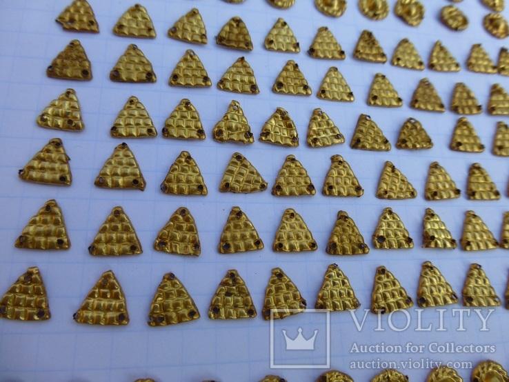 Пришивные бляшки, Скифы (Au) 155 шт., фото №12