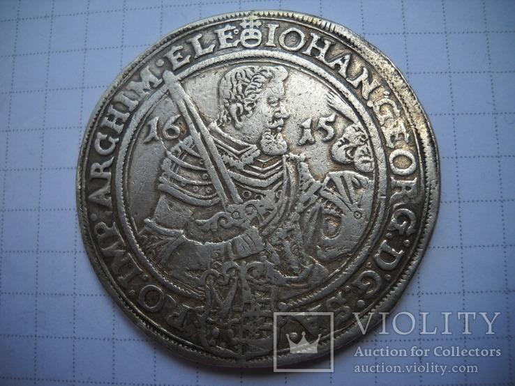 Талер  1615 Саксония