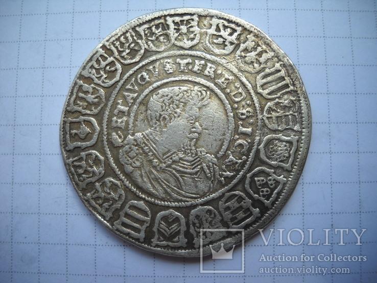 Талер  1615 Саксония, фото №7