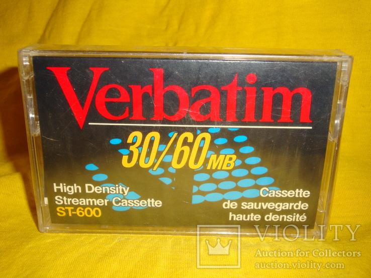 Аудиокассета verbatim st-600, фото №2