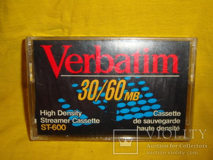 Аудиокассета verbatim st-600, фото №3