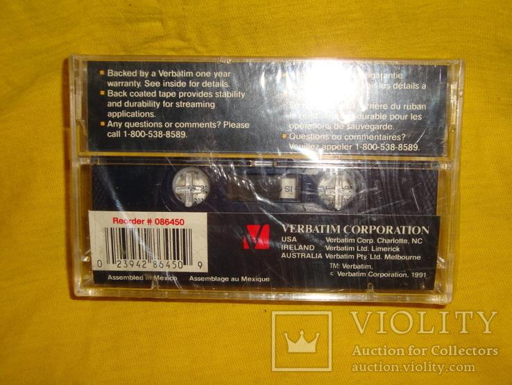 Аудиокассета verbatim st-600, фото №8