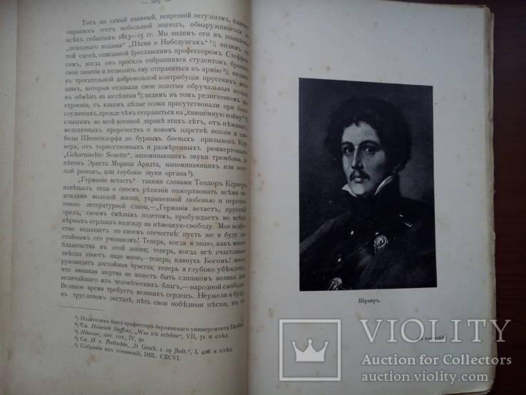 История немецкой литературы 1904 С 39 портретами, фото №9