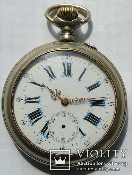 Часы карманные с фигурными стрелками., фото №3