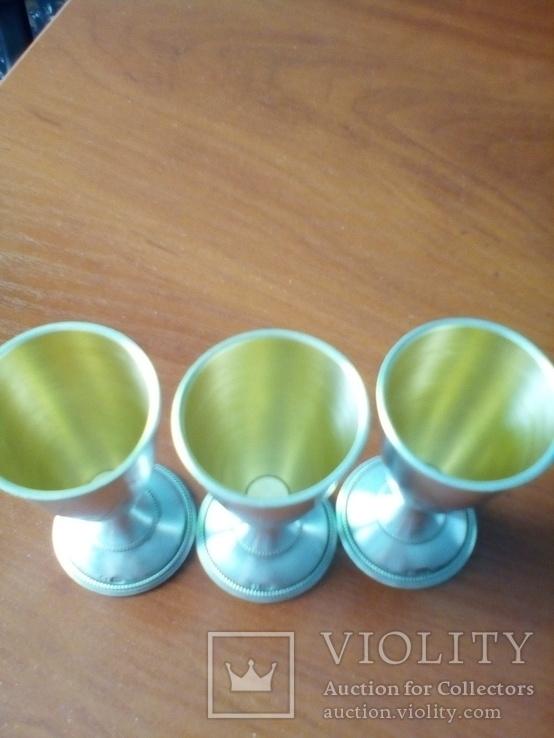 Серебряные рюмки, фото №4