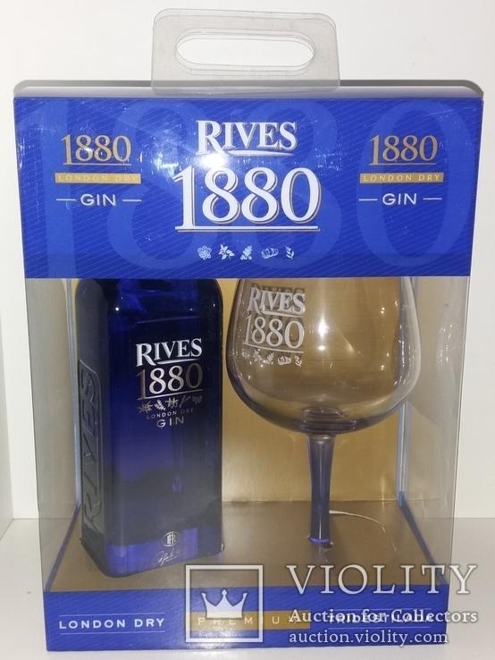 Джин 1880 Rives Premium London Dry Gin, Испания, фото №2