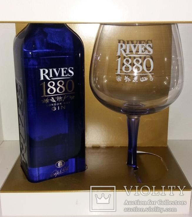 Джин 1880 Rives Premium London Dry Gin, Испания, фото №3