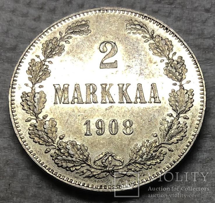 2 марки 1908 года. aUNC.