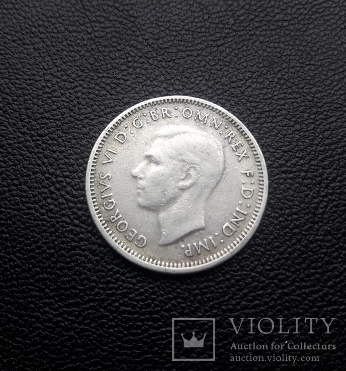 11 шиллингов Австралия, серебро